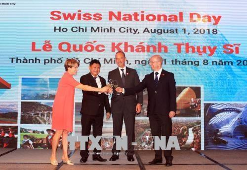 Celebran Dia nacional de Suiza en Ciudad Ho Chi Minh hinh anh 1
