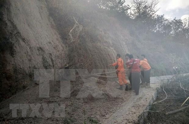 Indonesia anuncia plan de reparacion de rutas al monte Rinjani tras el terremoto de 6,4 grados hinh anh 1