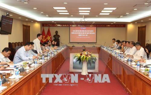 Destacan en Hanoi misiones de representaciones diplomaticas de Vietnam en el exterior hinh anh 1