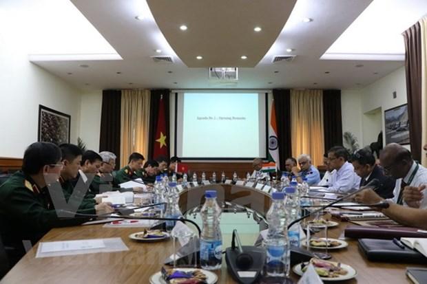 Vietnam y la India efectuan XI Dialogo sobre Politica de Defensa hinh anh 1