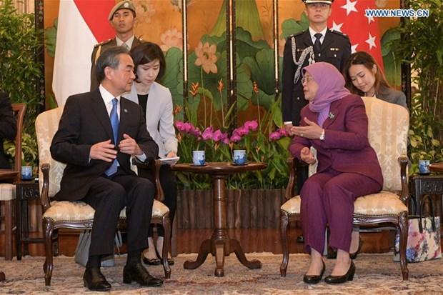 Singapur y China decididos a estrechar cooperacion hinh anh 1