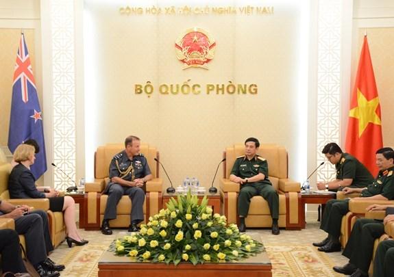 Vietnam y Nueva Zelanda intensifican sus lazos en defensa hinh anh 1