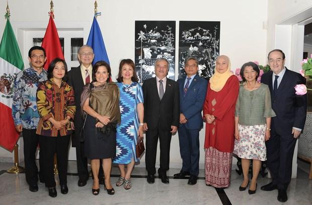 Destacan diplomaticos en Mexico contribuciones de Vietnam al desarrollo de ASEAN hinh anh 1