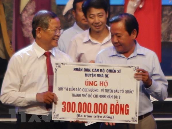 Recaudan dos millones de dolares a favor del mar e islas de Vietnam hinh anh 1