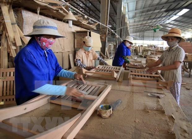 Ventas al exterior de productos madereros de Vietnam registran resultados alentadores hinh anh 1