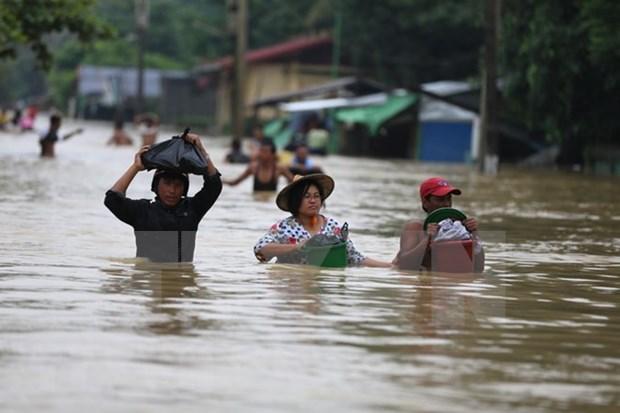 Inundaciones en Myanmar dejan 12 muertos hinh anh 1