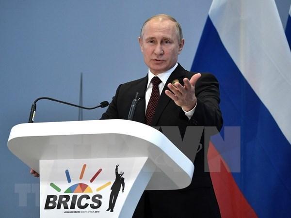 Presidente de Rusia asistira a Cumbre de Asia Oriental en Singapur hinh anh 1