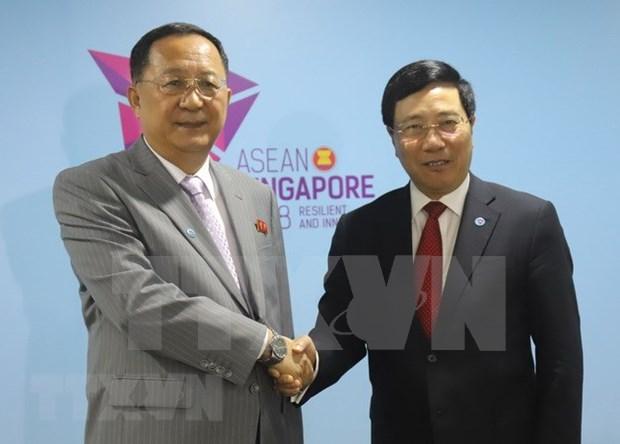 Vietnam aspira a fortalecer relaciones con Corea del Norte, afirma vicepremier hinh anh 1