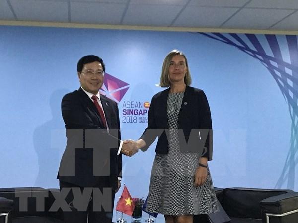 """Vietnam propone levantamiento de """"tarjeta amarilla"""" imputada por UE a la pesca hinh anh 1"""