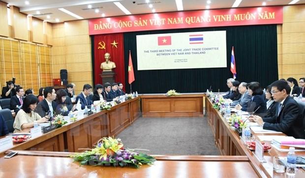 Vietnam y Tailandia acuerdan medidas para impulsar el comercio bilateral hinh anh 1