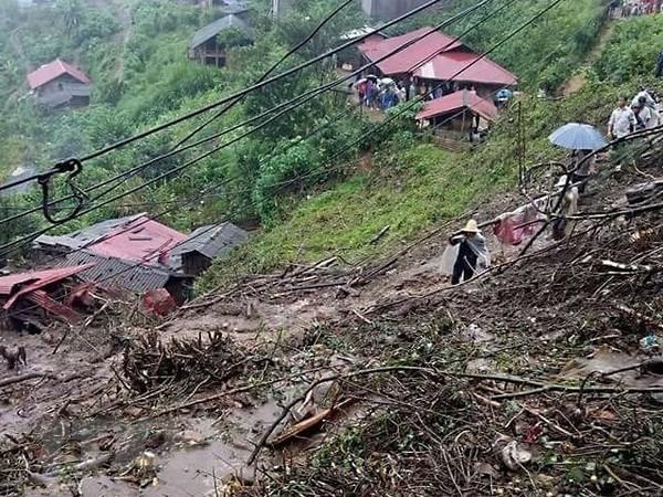 Deslizamientos de tierra dejan seis muertos en la provincia norvietnamita de Lai Chau hinh anh 1