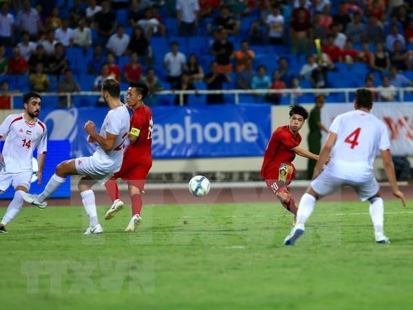 Seleccion de futbol sub-23 de Vietnam obtiene importante victoria antes de Juegos Asiaticos hinh anh 1