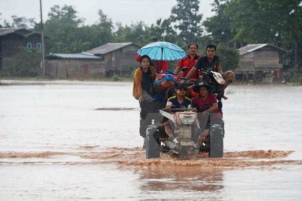 Laos prohibe actividades en area de presa hidroelectrica despues de colapso hinh anh 1