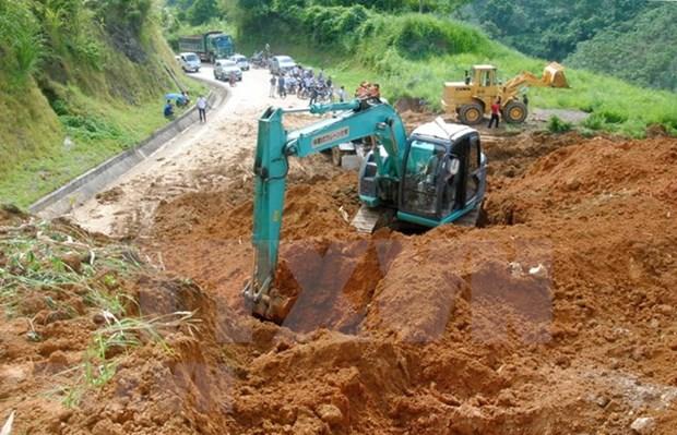 Provincias nortenas de Vietnam perfilan medidas para superar impacto de lluvias intensas hinh anh 1