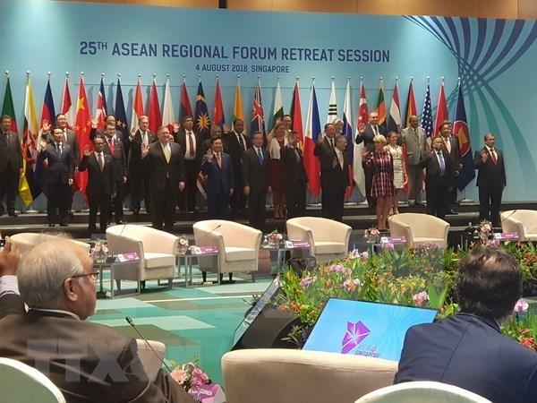 Foro Regional de ASEAN llama a Corea del Norte a renunciar a armas nucleares hinh anh 1