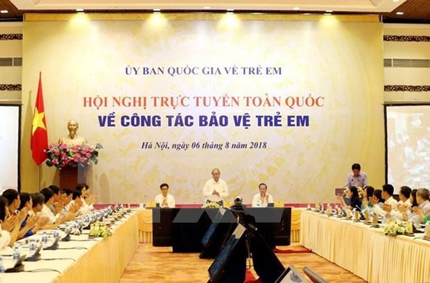 Proteccion infantil debe ser prioridad estrategica de Vietnam, sostiene Premier hinh anh 1
