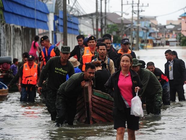 Tailandia se prepara para posibles inundaciones en la region sudoeste hinh anh 1