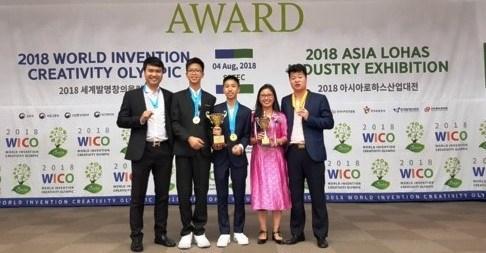 Vietnam cosecha garladones en Olimpiada Mundial de Creatividad e Invencion hinh anh 1