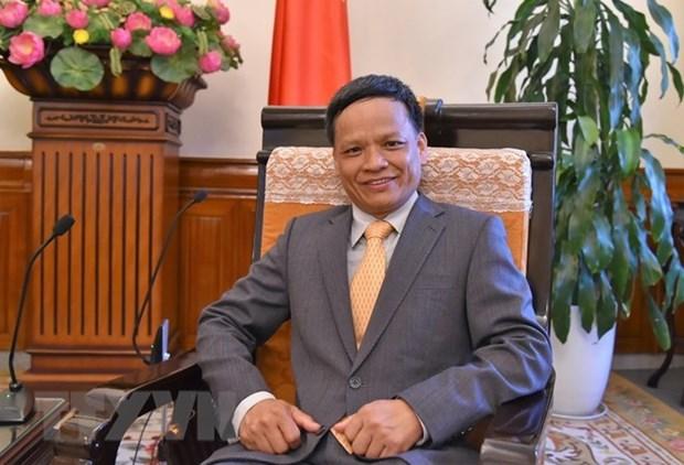Embajador destaca contribucion de Vietnam a Comision de Derecho Internacional hinh anh 1