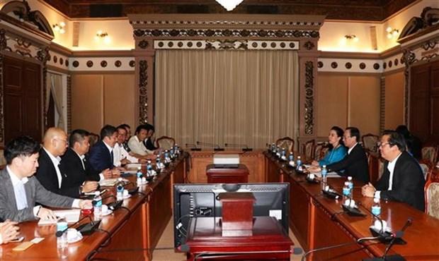 Centenar de empresas japonesas buscan oportunidades en Ciudad Ho Chi Minh hinh anh 1