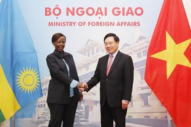 Vietnam atesora vinculos con Ruanda, destaca vicepremier hinh anh 1