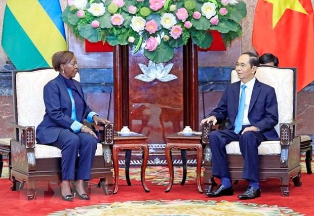 Vietnam aspira a profundizar las relaciones con Ruanda y Guinea hinh anh 1