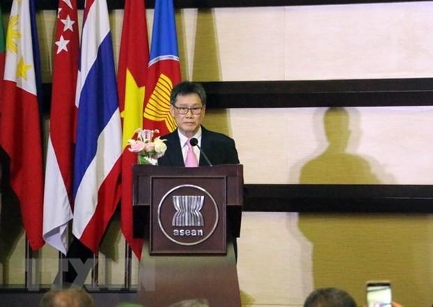 Celebran en Indonesia aniversario de fundacion de la ASEAN hinh anh 1
