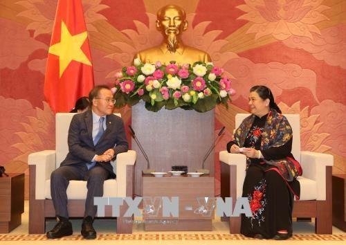 Fortalecen nexos parlamentarios Vietnam y Corea del Sur hinh anh 1