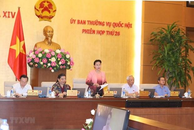 Inauguran XXVI Reunion del Comite Permanente del Parlamento de Vietnam hinh anh 1
