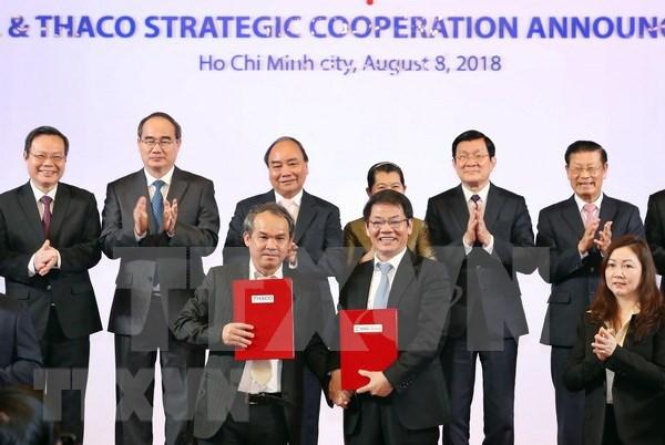 Premier de Vietnam alienta a las empresas a cooperar para modernizar la agricultura hinh anh 1
