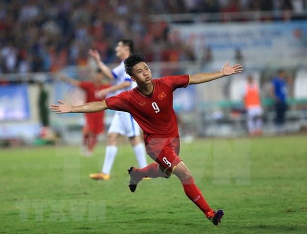 Seleccion de futbol sub 23 de Vietnam se corono en la Copa internacional VinaPhone 2018 hinh anh 1