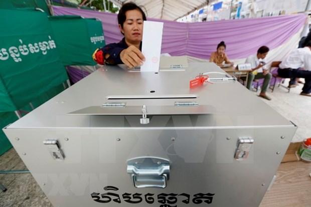 Comite Electoral Nacional no detecta irregularidades en elecciones generales en Camboya hinh anh 1