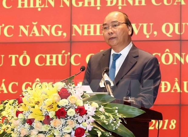 Premier de Vietnam pide a la policia fortalecer etica de funcionarios hinh anh 1