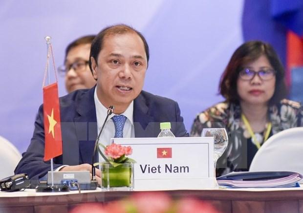 Destacan aportes de Vietnam al cumplimiento de metas de ASEAN hinh anh 1