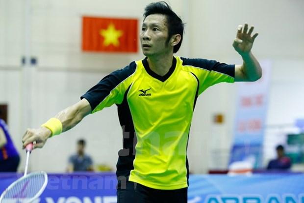 En desarrollo torneo internacional de badminton en Ciudad Ho Chi Minh hinh anh 1