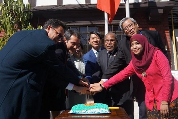 Embajada de Vietnam en Chile conmemora aniversario de ASEAN hinh anh 1