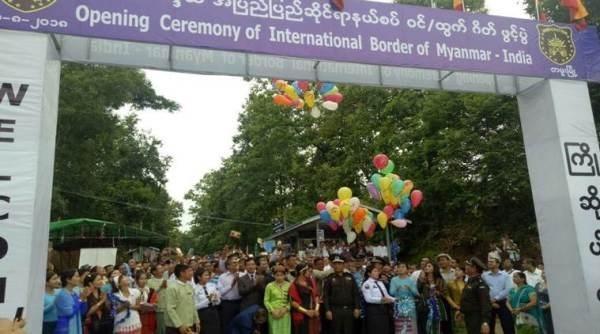 Myanmar abre nuevos pasos fronterizos con India hinh anh 1
