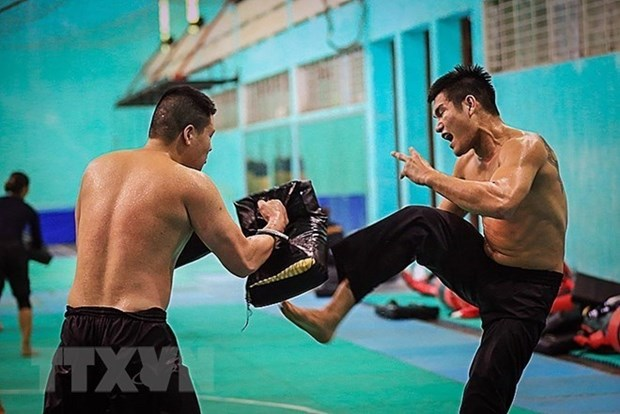 Pencak silat, la esperanza dorada de Vietnam en ASIAD 2018 hinh anh 1
