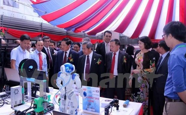 Inauguran Foro de Promocion de transferencia tecnologica Vietnam-Laos hinh anh 1