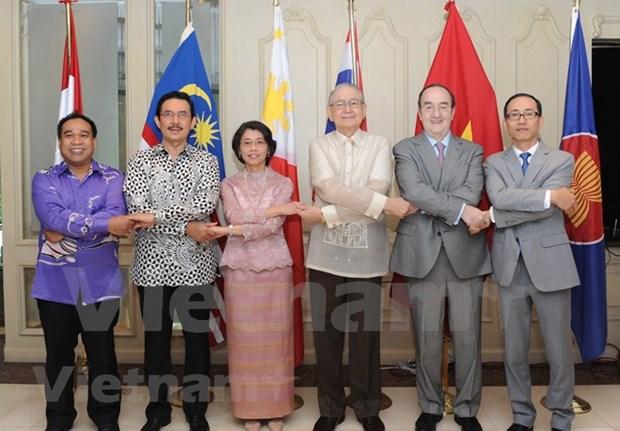 Celebran en Mexico la ceremonia conmemorativa por el aniversario 51 de la ASEAN hinh anh 1