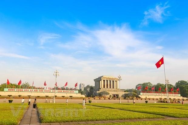 Mausoleo del Presidente Ho Chi Minh reabrira sus puertas a mediados de agosto hinh anh 1