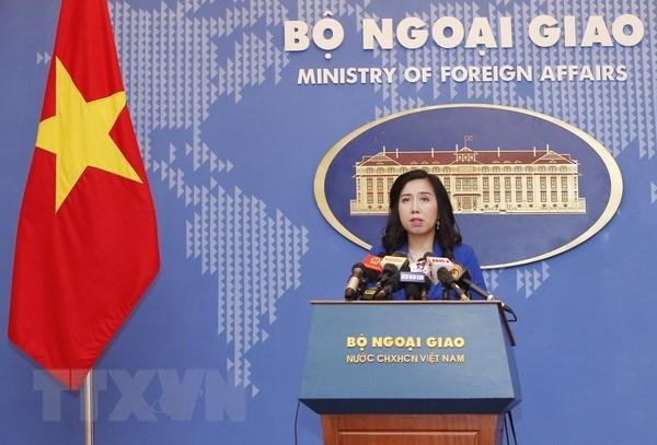 Vietnam exige a China respetar su soberania sobre Hoang Sa y Truong Sa hinh anh 1