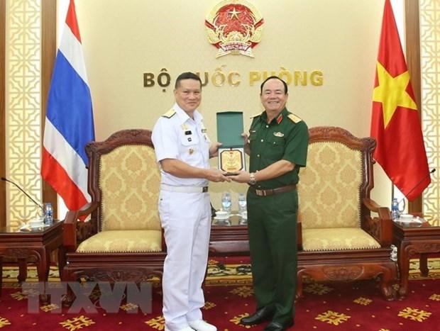 Armadas vietnamitas y tailandesas fomentan la cooperacion hidrografica hinh anh 1