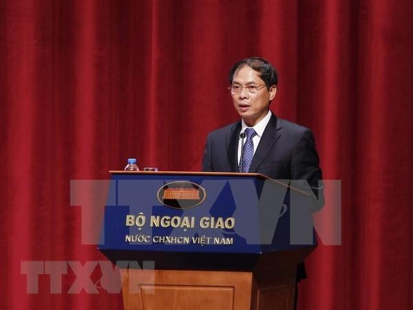 Diplomacia de Vietnam refuerza apoyo a empresas en integracion internacional hinh anh 1