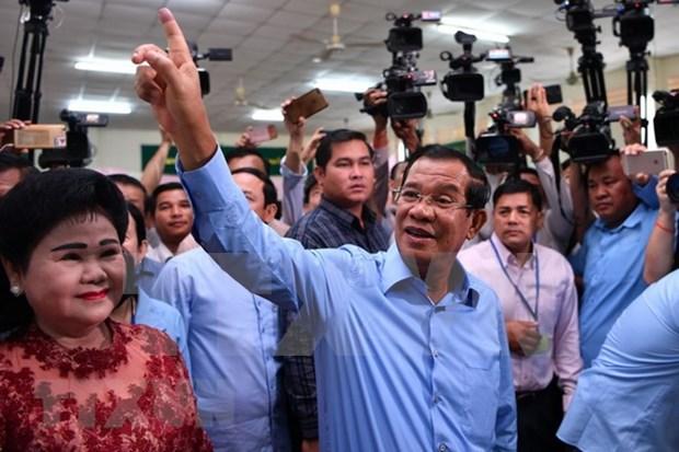 Premier tailandes felicita a Camboya por exito de las elecciones generales hinh anh 1