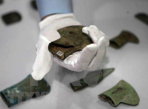 Vietnam recibe objetos historicos llevados de forma ilegal a Alemania hinh anh 1