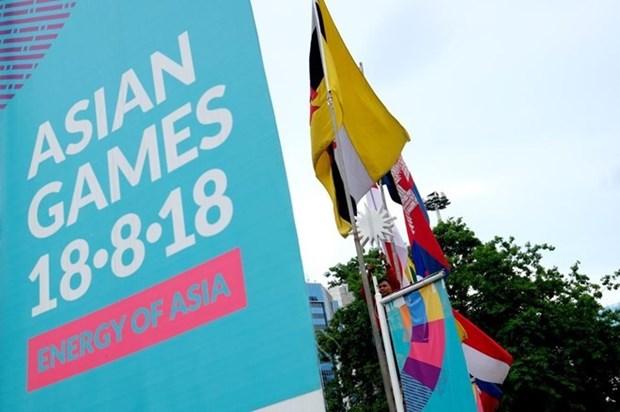 Seleccion olimpica de futbol de Vietnam llega a Indonesia para ASIAD 2018 hinh anh 1
