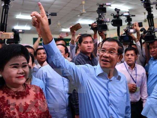 PCV felicita al Partido Popular de Camboya por su victoria electoral hinh anh 1