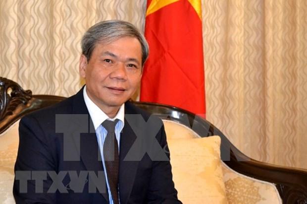 Relaciones Vietnam-India registran un desarrollo sustantivo, afirma embajador vietnamita hinh anh 1