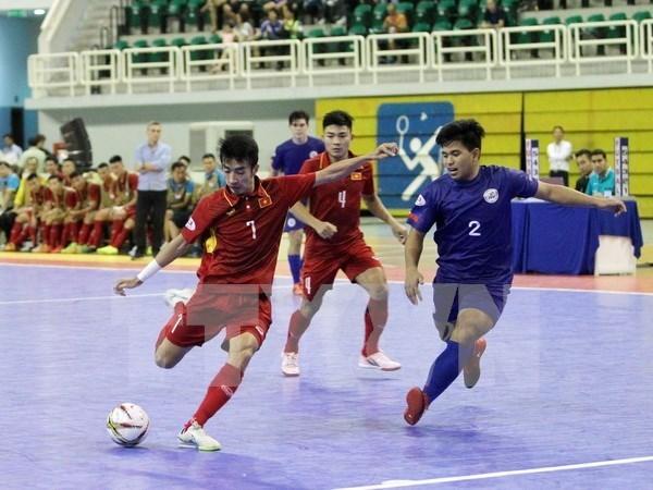 Club vietnamita avanza a la final del campeonato asiatico de futbol sala hinh anh 1